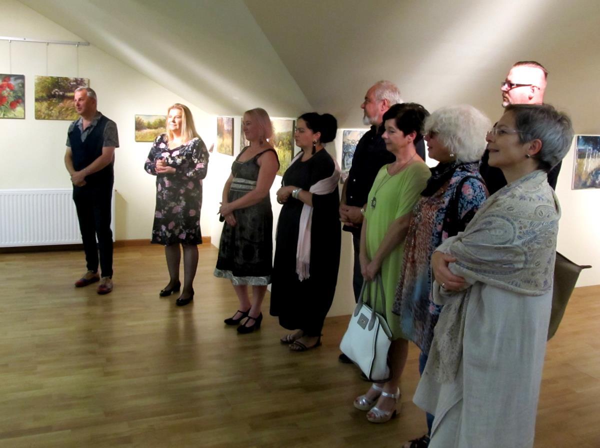 Wystawa poplenerowa III Strzyżowskiego Pleneru Malarskiego Artystów Podkarpacia