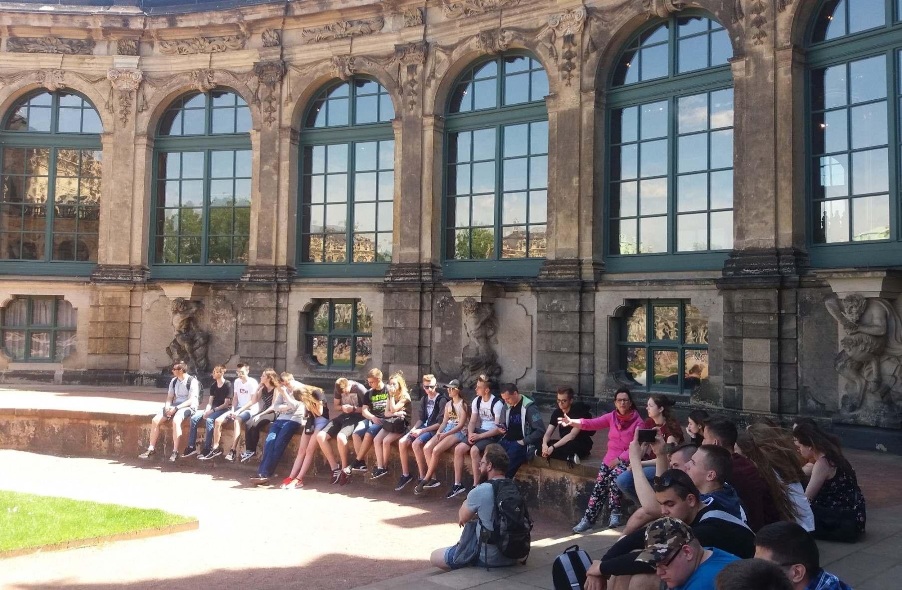 Praktyki zawodowe w Dreźnie rozpoczęte