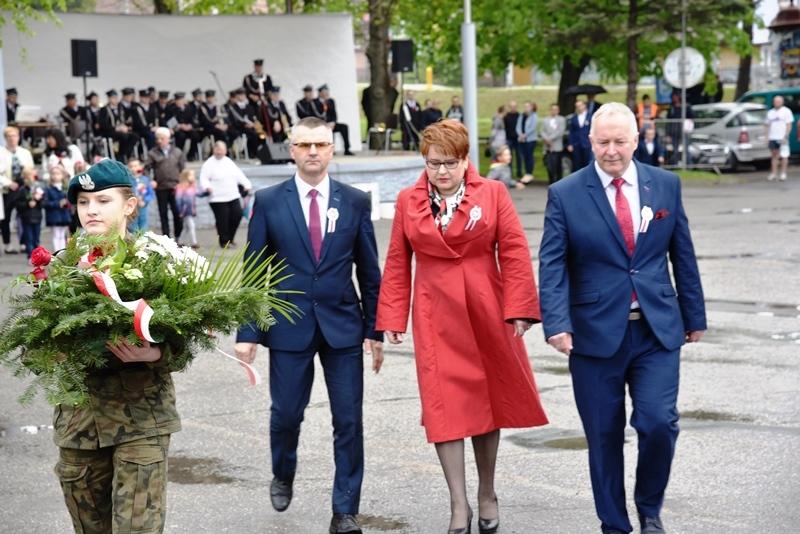 Powiatowo-gminne obchody Narodowego Święta Konstytucji 3 Maja w Strzyżowie 03.05.2019