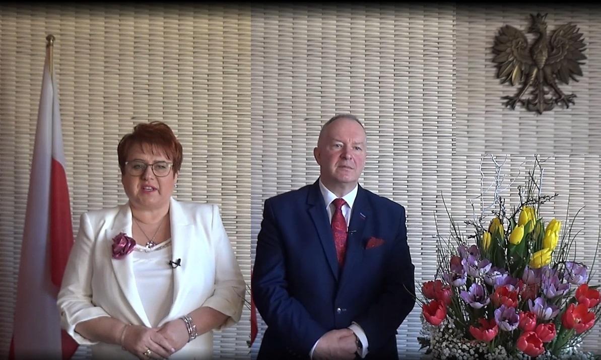 Życzenia Świąteczne Władz Powiatu Strzyżowskiego